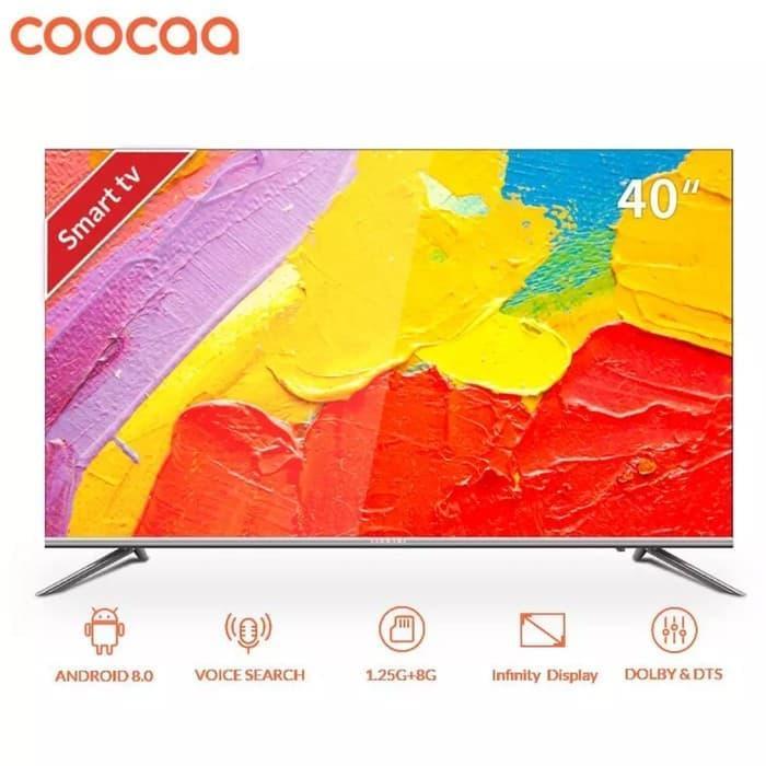 Led 40  FullHD Smart Android Coocaa 40S5G - Khusus Jabodetabek