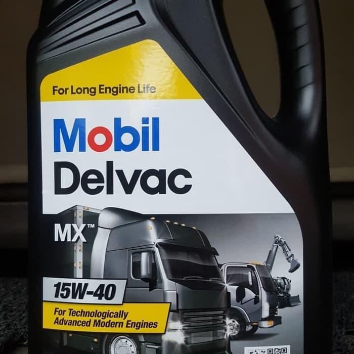 Oli Mobil Delvac MX 15W40 Galon 5 Liter - ada hasil Cek Lab Trakindo