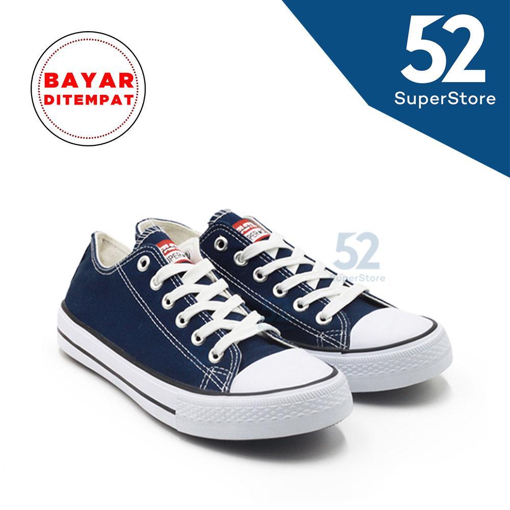 Faster Sepatu Sneakers Kanvas Wanita 1603-03 Size 36 40 9218aa46bd