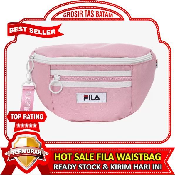Grosir Tas Batam - Waist Bag Fila Wanita Waistbag Selempang Slempang Pinggang Fashion Import