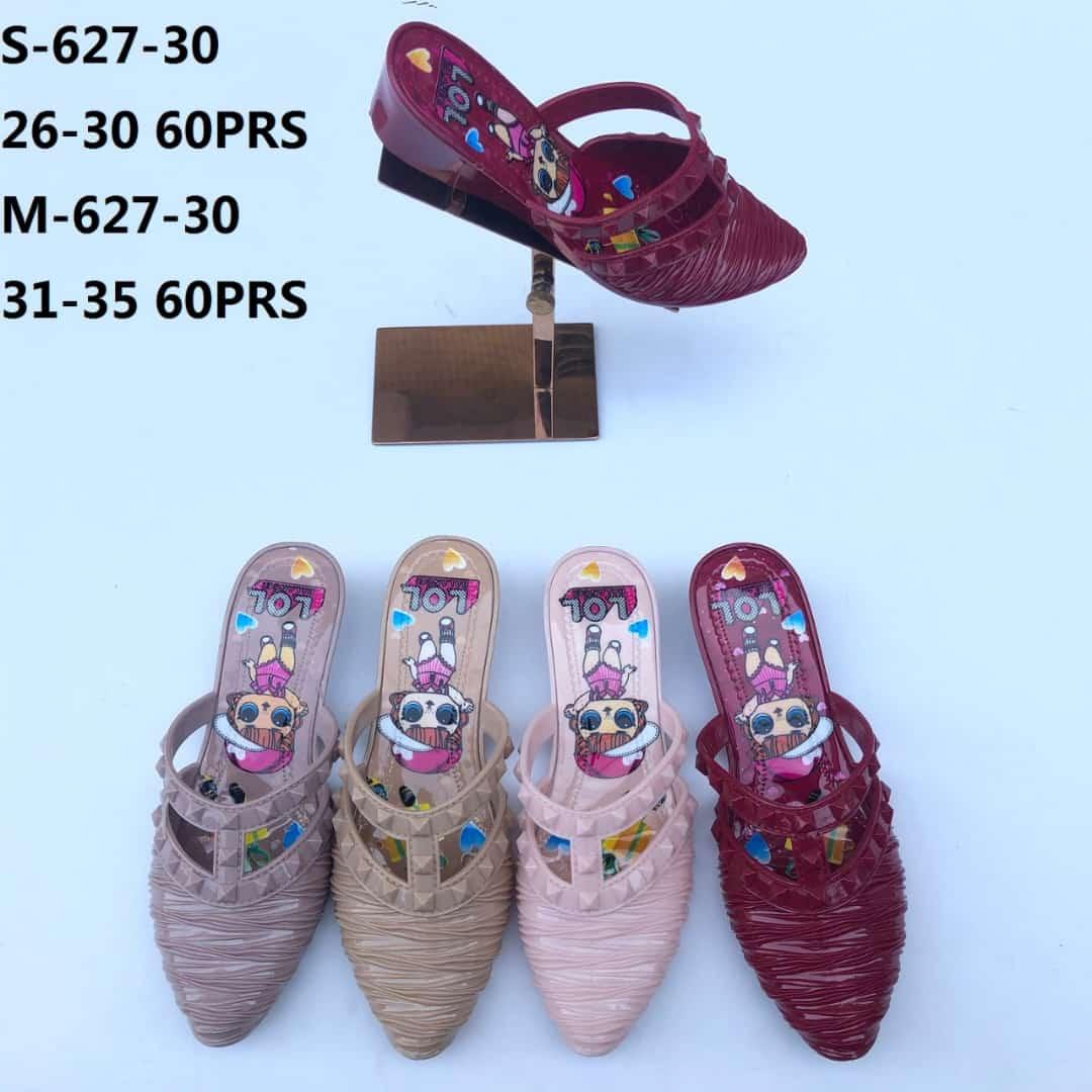 ITSshop Sandal Jelly Anak Sepatu Sandal Jelly Sandal Anak Gambar Kartun Lucu Aksen Duri S 627 30 Warna Dikirim Random