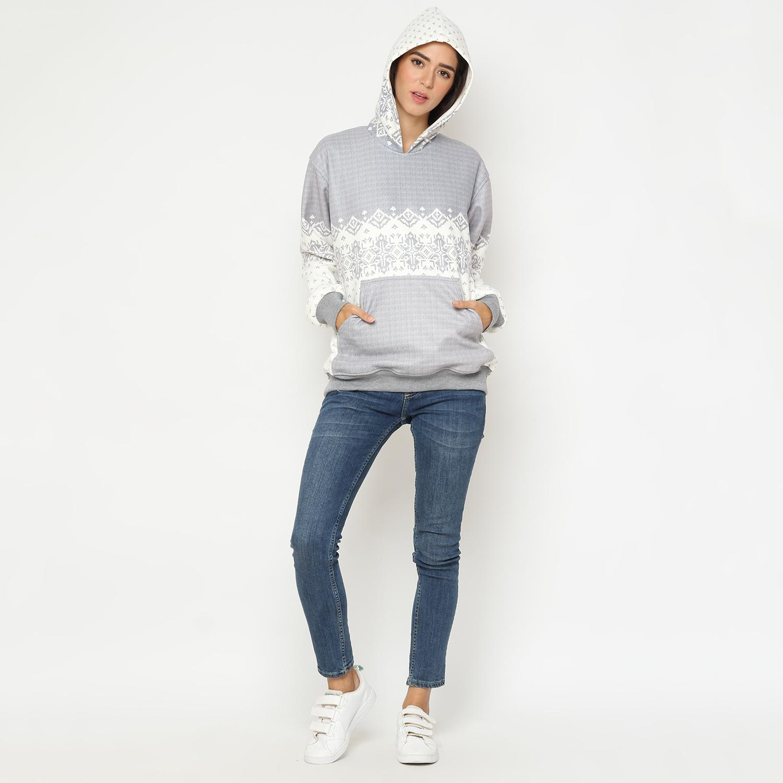 Jaket Sweater Wanita Perempuan Hoodie Korea Murah Bomber Import Branded