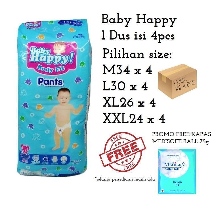 Baby Happy Pants (1 DUS ISI 4)