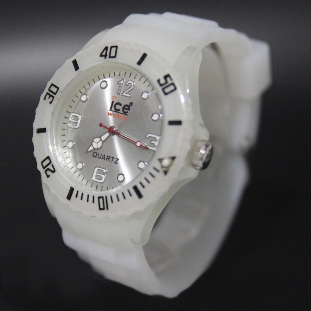 JAM TANGAN WANITA & PRIA - Silicon Ice Stylish Classic - jam tangan Fashion remaja - limited edition - jam tangan murah-Gratis Box unik ice