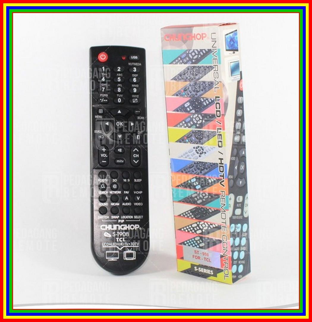 Remot / Remote TV LCD/LED Tcl Multi/Universal
