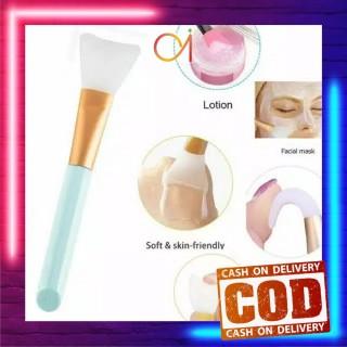 AI-K23-24 Kuas MakeUp Satuan Alat Kosmetik Make Up Brush Kuas Masker Wajah Silikon Facial Brush thumbnail