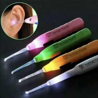 Korek Kuping Earpick Lamp Flashlight LED pembersih telinga dengan lampu thumbnail
