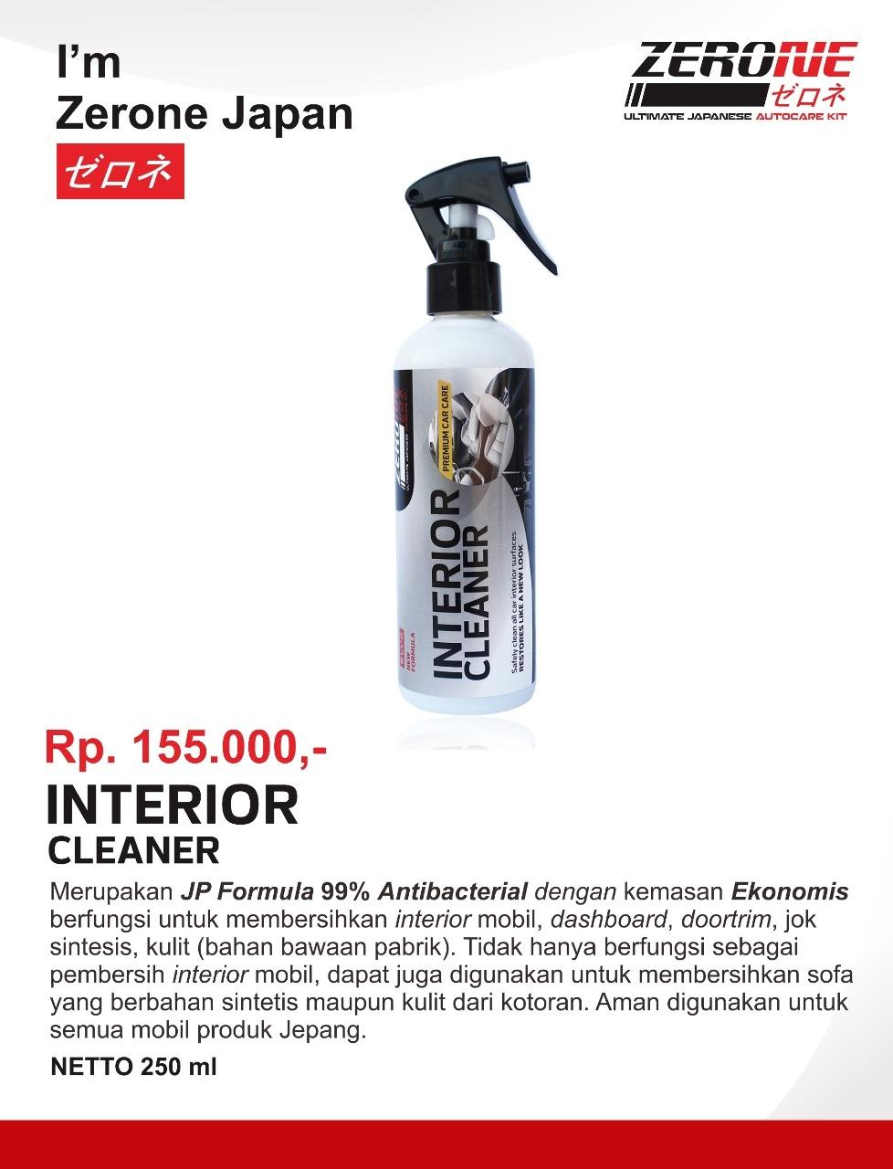 Zerone Interior Cleaner - Pembersih Interior Mobil By Zerone Japan Official.