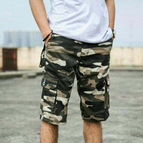 Celana Cargo (Kargo) Pendek Pria