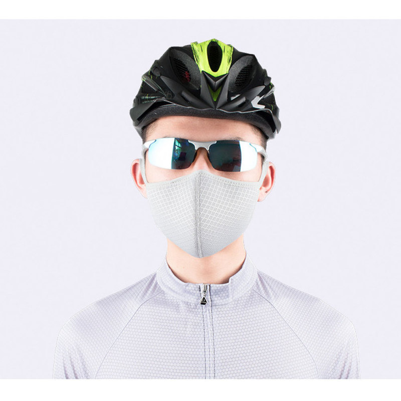 ballad [In stock ] Adjustable Air Purifying Masks Dust Haze Fog Respirator Anti-Dust Riding Masks Cycling Face Masks Trainning Mask