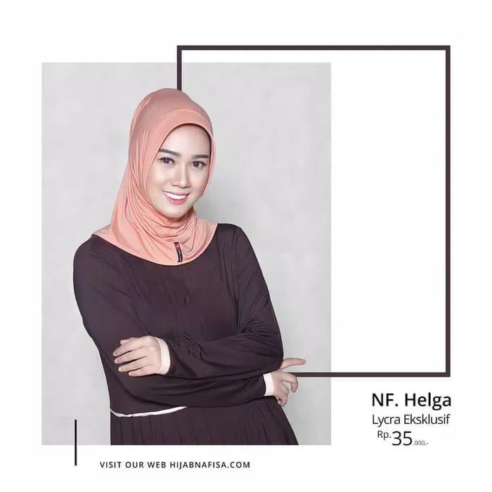 PROMO jilbab hijab instan pendek nafisa original helga TERBARU