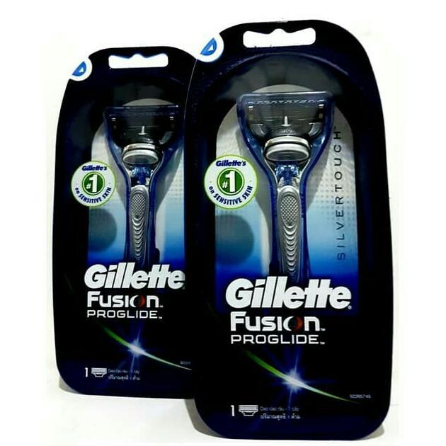 Alat cukur Gillette Fusion Proglide Silvertouch - isi 1
