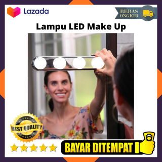 Lampu LED Make Up Lampu Bohlam Cermin Portable Lampu Kaca Studio Lampu Cermin Make Up Spark Lampu Bohlam Make Up Studio Glow Super Bright thumbnail
