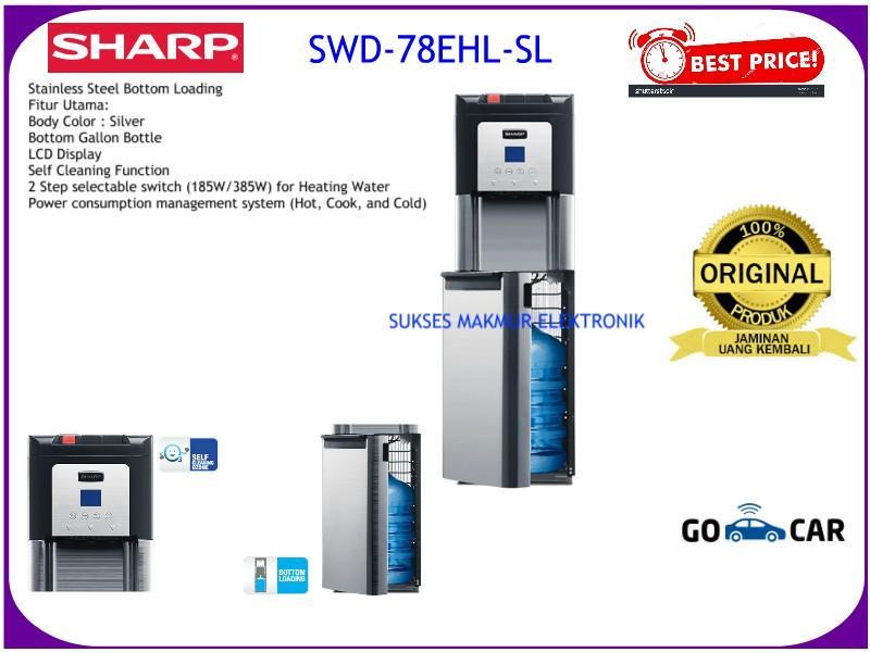 Sharp Water Dispenser SWD-78EHL-SL - Silver