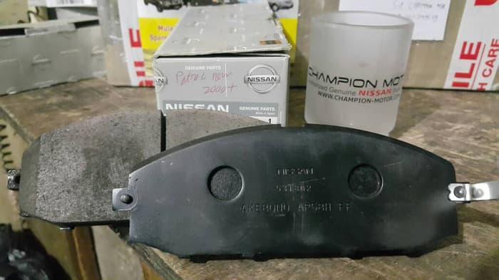 brake pad FR kampas rem nissan patrol new thn 2000+ GEN