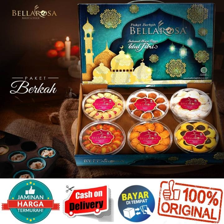 Promo Kue Lebaran Bellarosa Paket Berkah Bb Murah Free Packing 2 Lapis Bubble Warp Aman By Lt Shop.