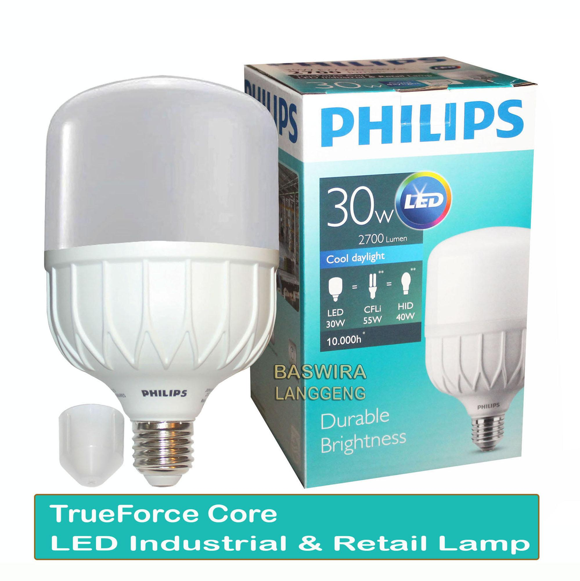 Philips Lampu Led 30w 30 Watt Industrial & Retail Lamp Putih By Baswira Langgeng.