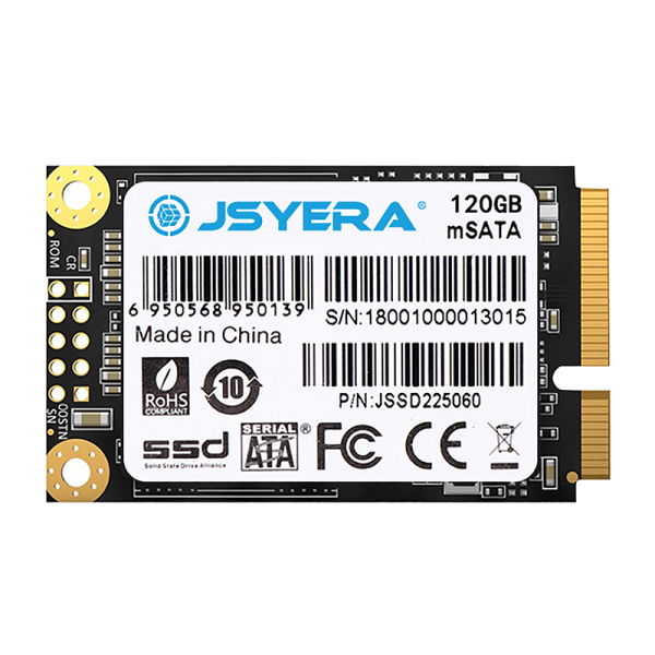 Bảng giá JSYERA Mini MSATA SSD 120GB Built-in Solid State Drive, Suitable for Desktop / Notebook / All-In-One / Ad Player Phong Vũ