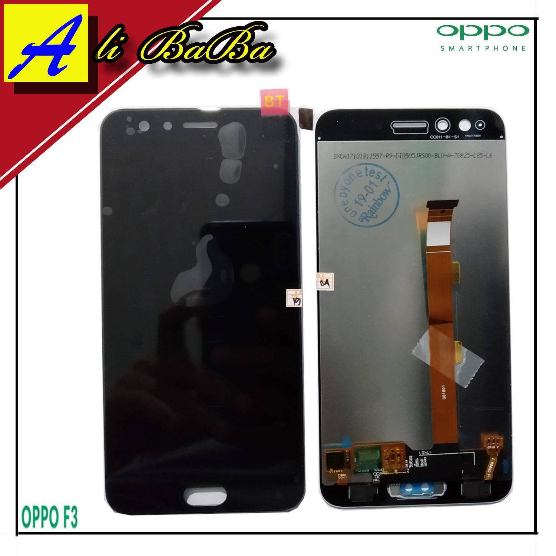 LCD Touchscreen Oppo F3 Layar HP Oppo F3 Kaca HP Oppo F3-FULLSET