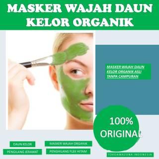 Masker Wajah Daun Kelor Organik-Masker Wajah Untuk Penghilang Flek Hitam dan Jerawat thumbnail