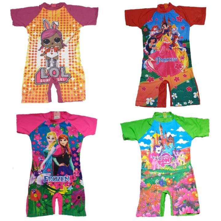 Baju renang anak TK cewek 4 5 6 7 8 tahun