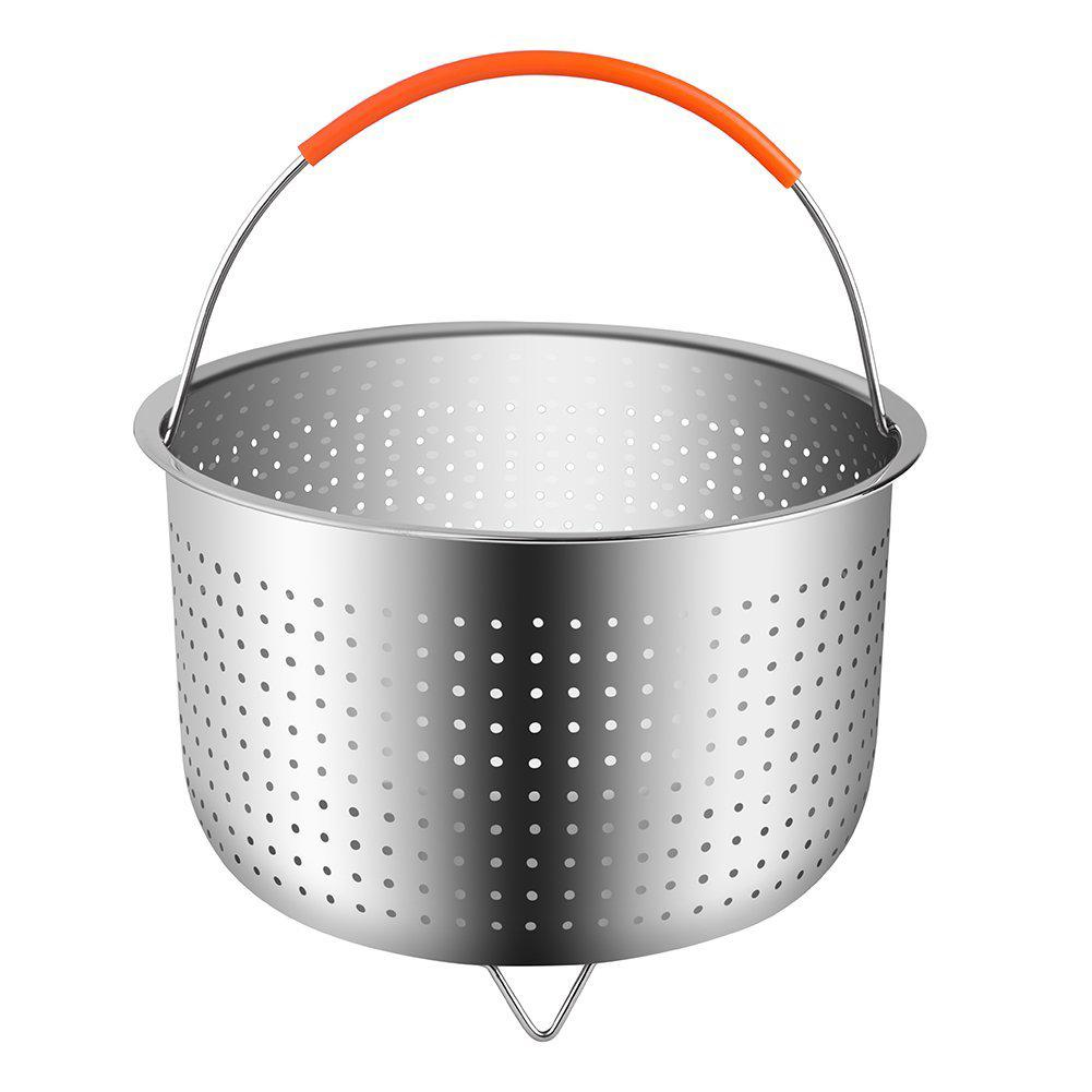 The Original Sturdy Steamer Basket for 8 Quart Instant Pot Pressure Cooker Stainless Steel Steamer Insert with Handle Great Accessory for Steaming Vegetables Fruits Eggs
