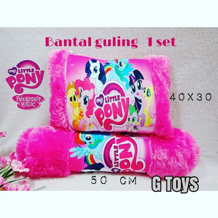 Bantal Guling Printing Bayi Balita Little Pony