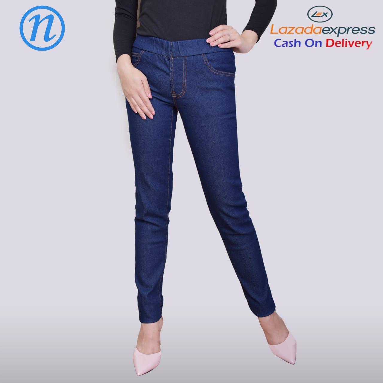 Nusantara – Jegging Skinny - Celana Jegging Wanita Model Terbaru Bahan Softjeans Street