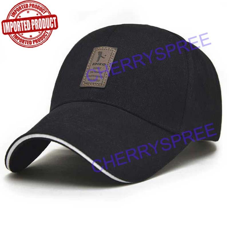 Orlando Topi Impor Logo Golf Snapback Baseball Hat Cap Sports Golf Bahan  Katun Bisbol Pria Wanita 50131b949b