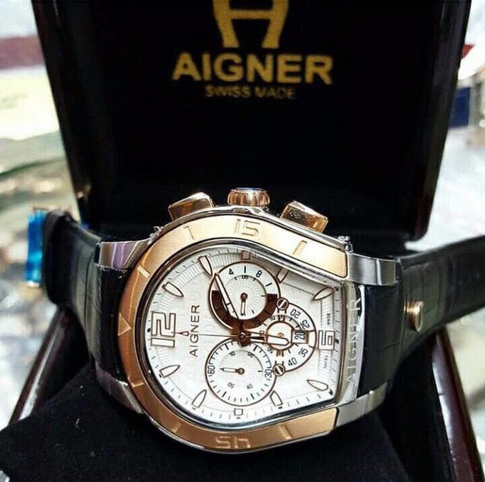 Jam Tangan Pria Merk Aigner Palermo Type A37500 Leather 1374cf287c