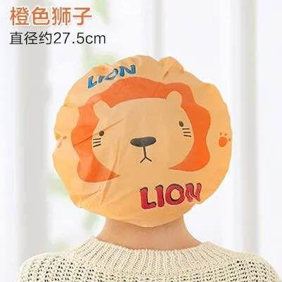 Harazaki-Shower Cap Kartun / Waterproof Elastic Lace Shower Bouffant Hair Bath Cap Motif Kartun By Harazaki.