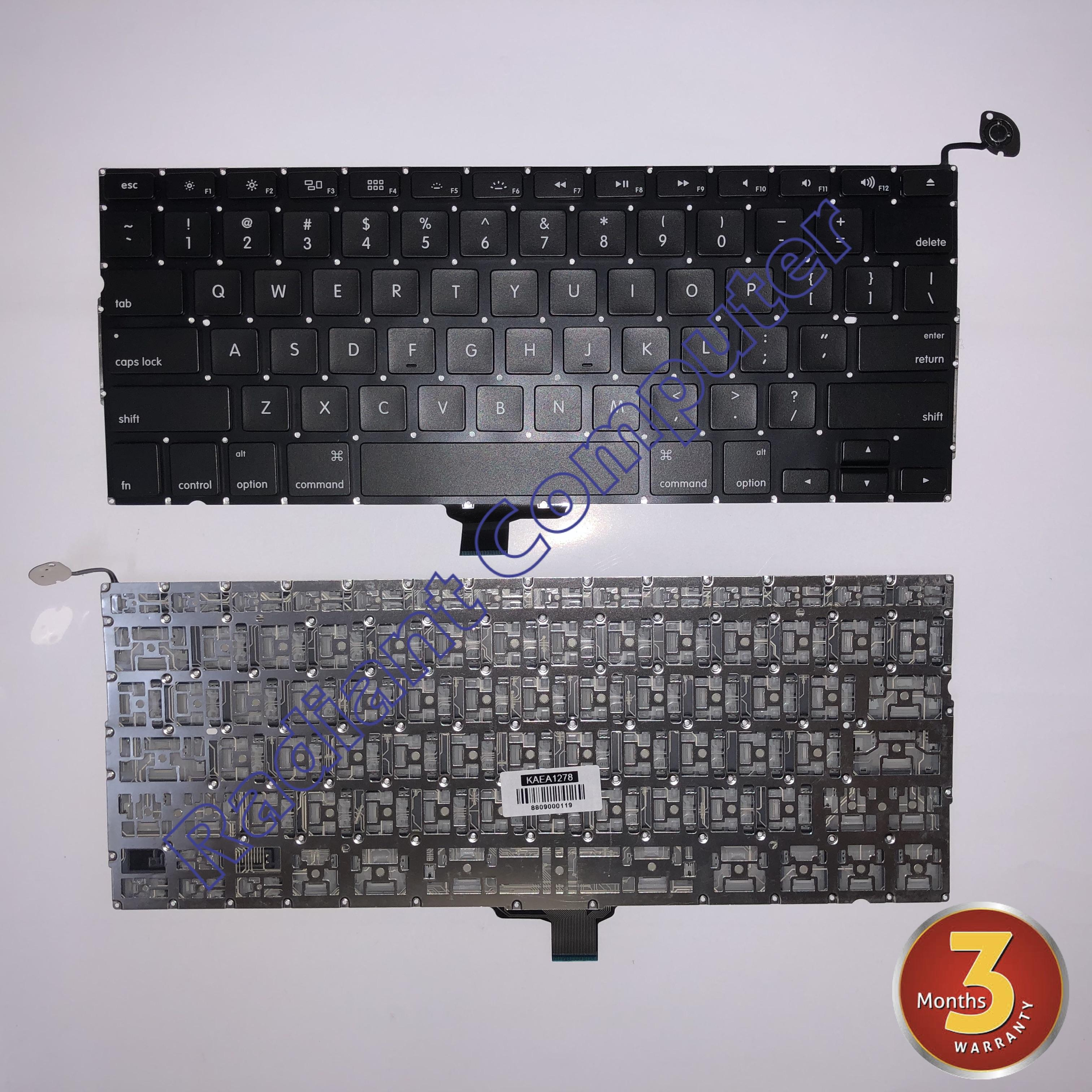 """Keyboard For Apple Macbook Pro 13/"""" A1278 2009 2010 2011 2012 US Version"""