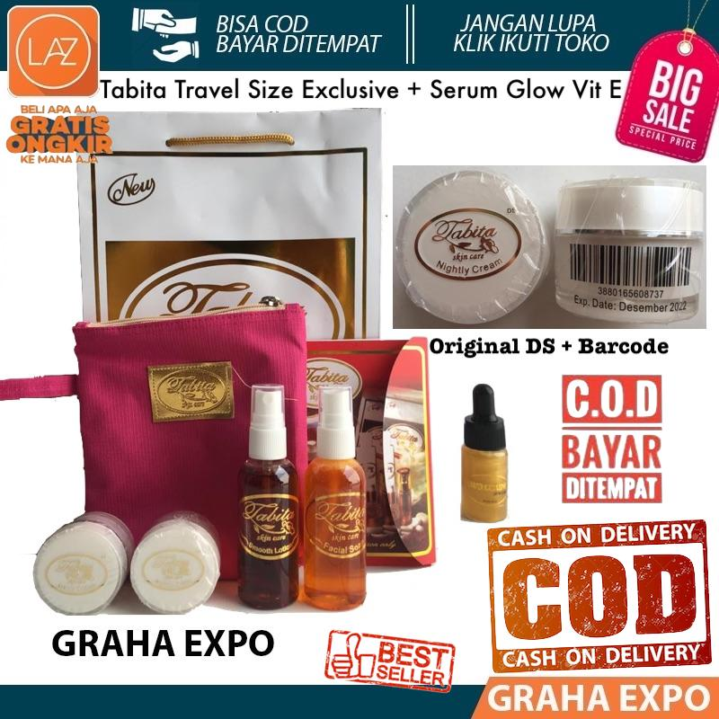 Tabita Skin Care Original Kemasan Kecil Exclusive Travel Size + Serum 20 Gr Skin Care Paket Set 5 In 1 20gr Day And Night Cream With Facial Wash And Toner Plus Serum 10ml Krim Siang Dan Malam Dengan Sabun Dan Toner Plus Essence 10 Ml Laz Cod Graha Expo By Grahaexpo.