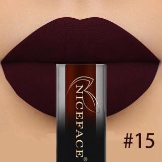 NICEFACE 18 Warna Gradien Pelembap Bibir Lipstik Matte Anti-lengket Lipstik Tahan Lama thumbnail