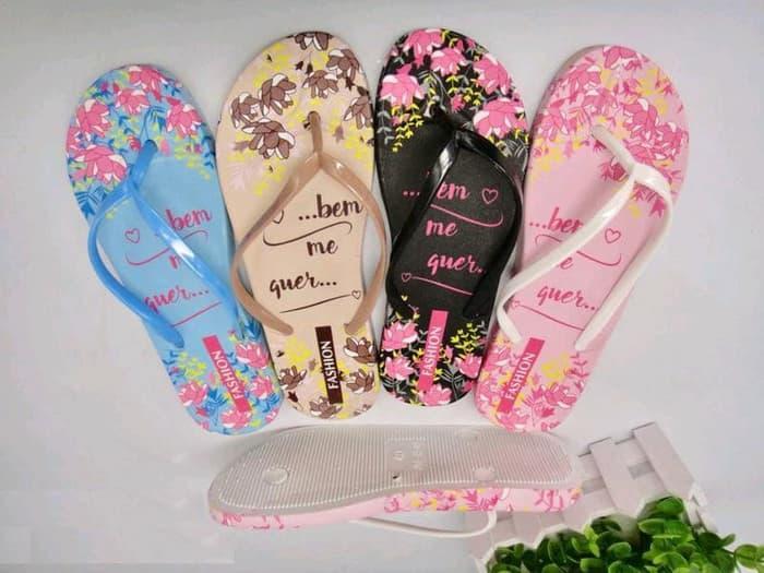 Sandal Jepit Wanita - Sendal Jepit Wanita - Sandal Unik - Sandal Lucu