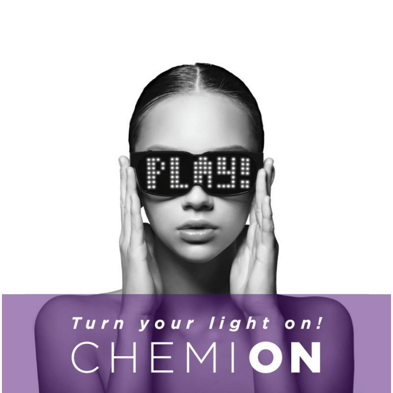Chemion Bluetooth Led Glasses Atmosphere Sunglasses For Nightclub Party Decor By Super Star Mall.