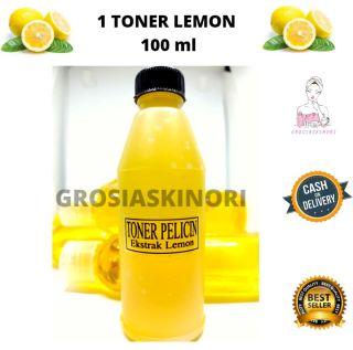 Toner Lemon 100 ML Wajah Kinclong Bersih Pelicin BEST SELLER BY GROSIASKINORI thumbnail