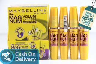 BELI 1 GRATIS 1 Maybelline Volume Express - Waterproof Maskara - Collagen penebal bulu dosting mascara anti air Mascara maybelline maskara promo thumbnail