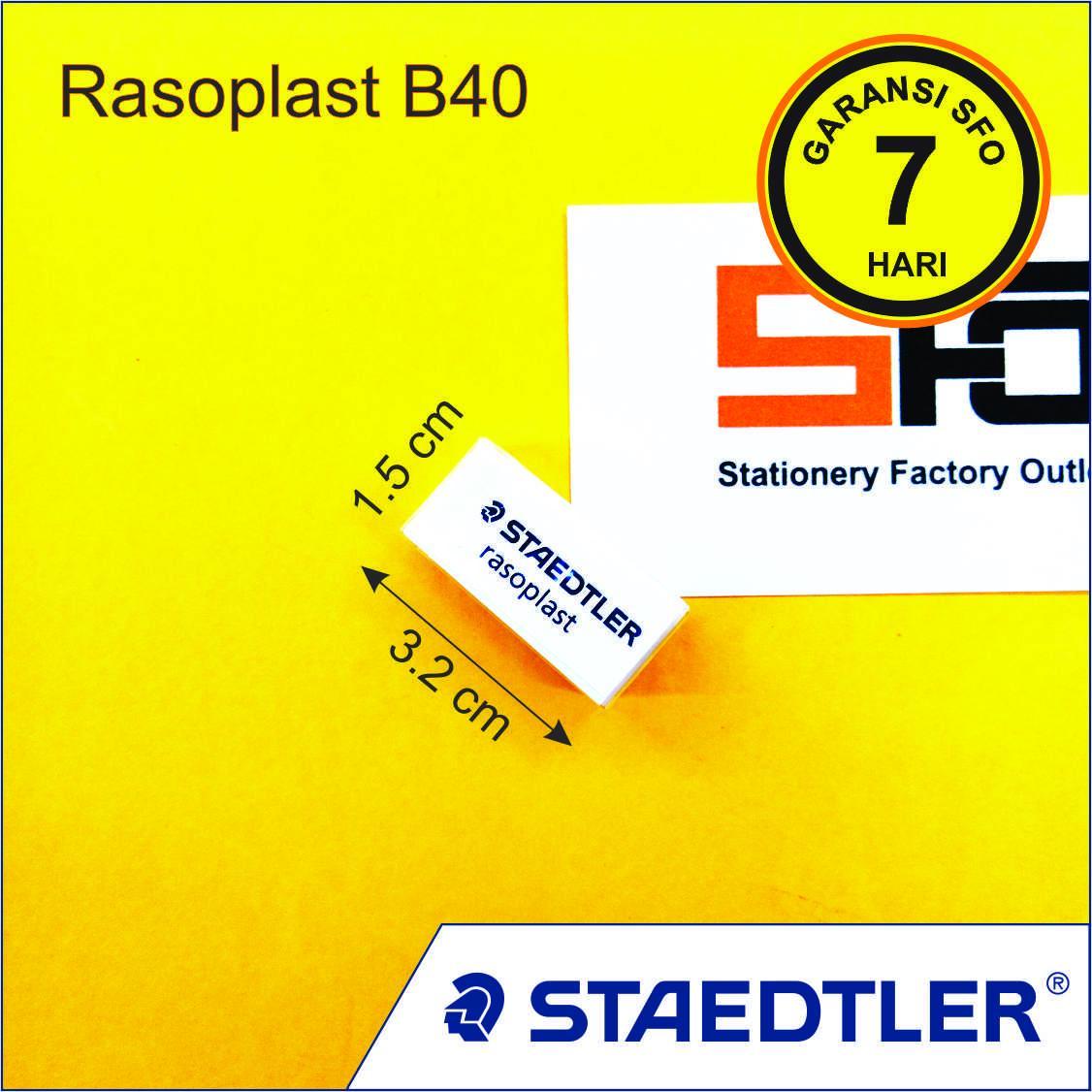 10 pcs Penghapus Staedtler Rasoplast