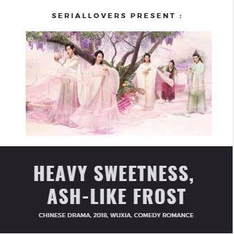 Dvd Chinese Drama Heavy Sweetness Ash-Like Frost By Superwomenhijab.