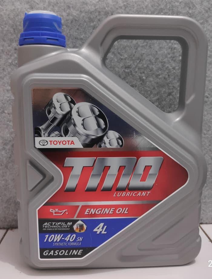 NEW! oli mesin mobil toyota tmo 10w-40 SN for gasoline 4L