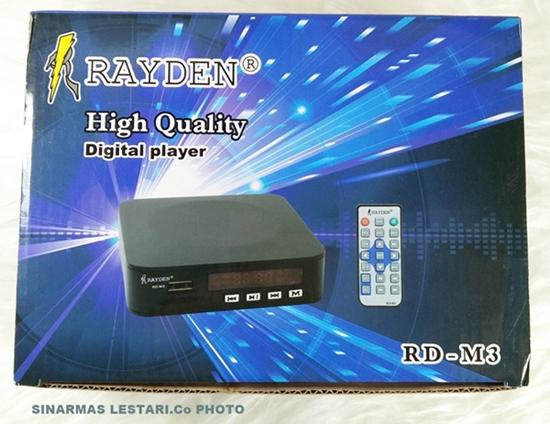 Digital Vidio Player Mp3-Mp4-Mp5 Usb-Mmc To Tv Raiden-M3 By Singamas Elektrik