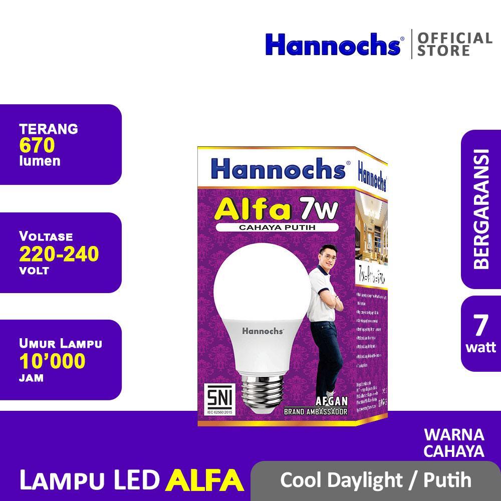 Hannochs Lampu LED Alfa 7 watt CDL - Putih