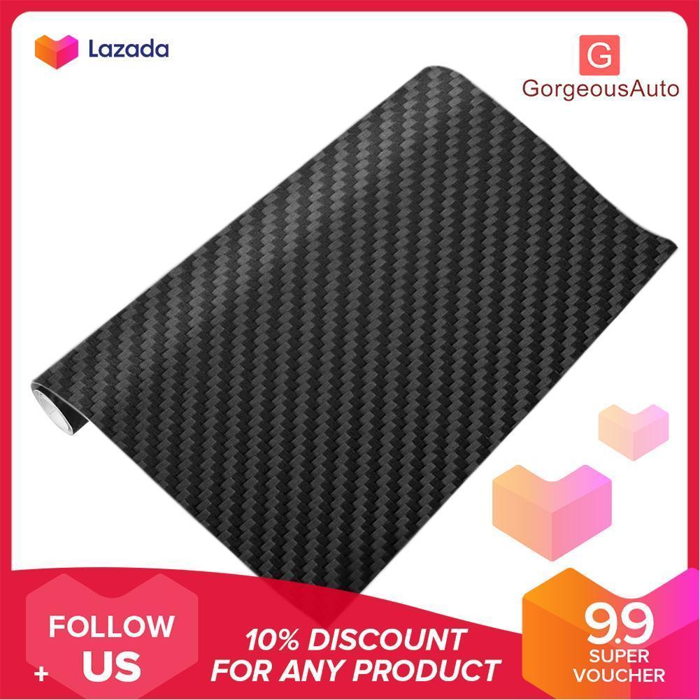 Hot Promo Sticker Karbon/serat karbon/sticker karbon Termurah ukuran 45cm x 1 Meter