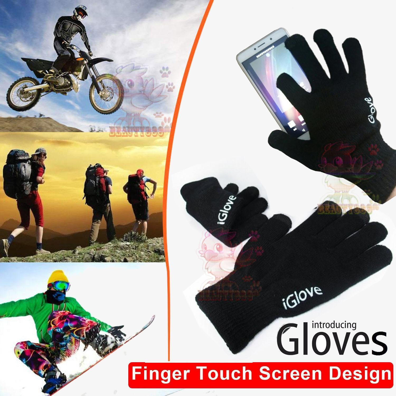 I-Glove Sarung Tangan Capacitive Smartphone & Tablet Android Ios Iglove-FI001 Sarung Tangan