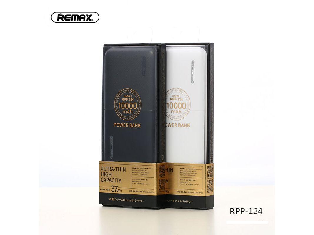 Powerbank Remax Linon 2 RPP-124 10000mAh - (Power Bank 10000 mAh) ORIGINAL REMAX - Fast Charging