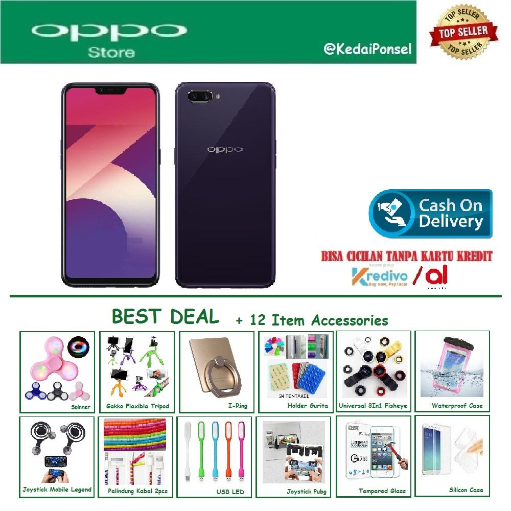 OPPO A3S [2/16GB] - Best Deal +12 Item Accessories