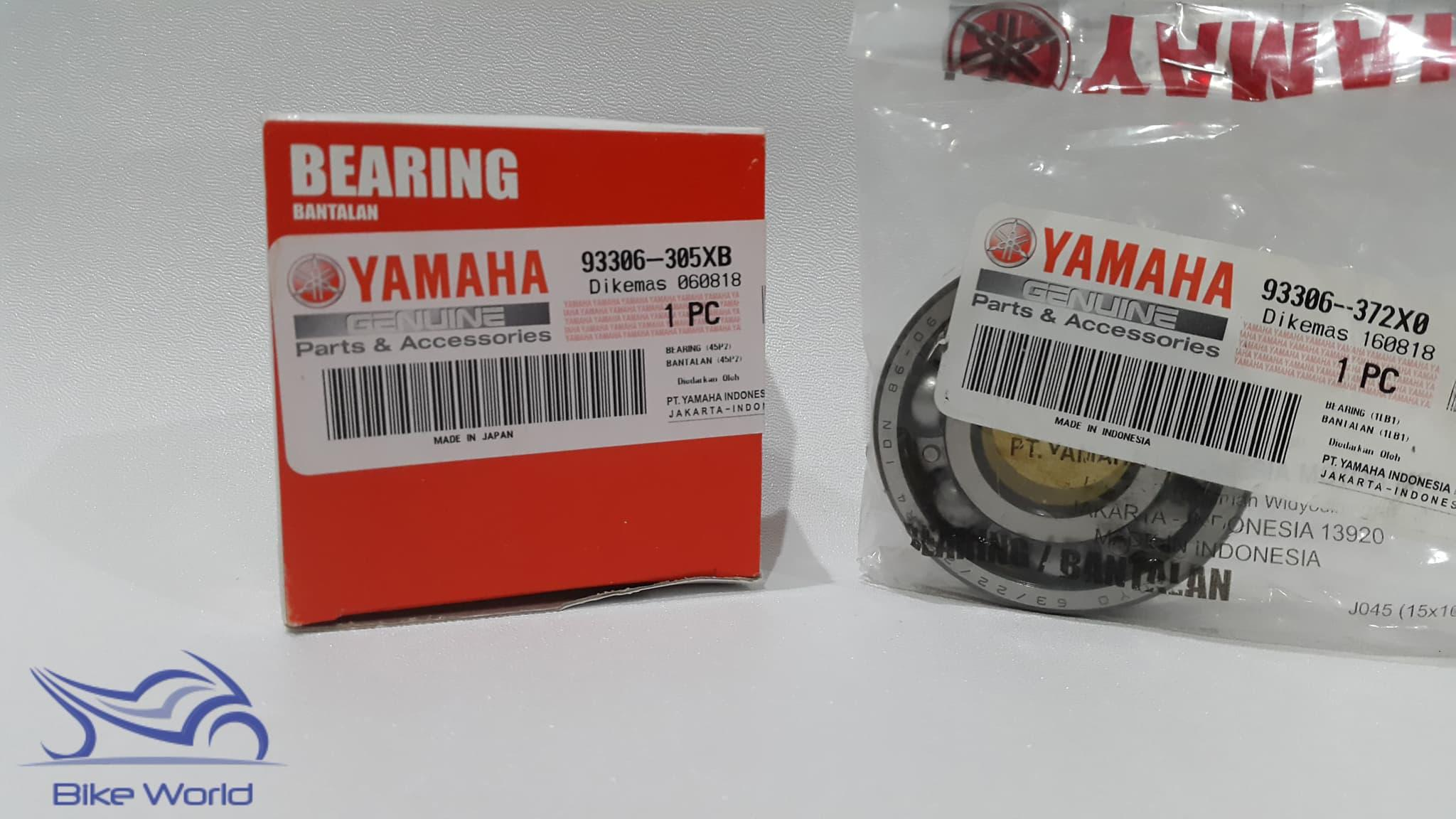 Bearing Kruk As Mio, Mio J, Xeon, X Ride 63/22, 6305 Yamaha Genuine