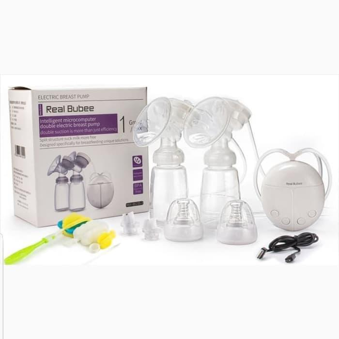 Best Seller Real Bubee Double Electric Breast Pump Pompa Asi
