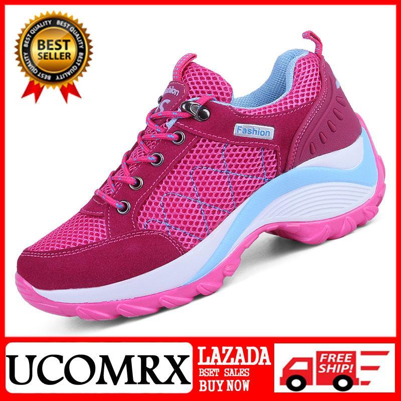 Ucom Modis Peningkatan Besar Dalam Sepatu Wanita Klasik Daki Gunung Sepatu Bernapas Tren Kasual Sepatu Wanita